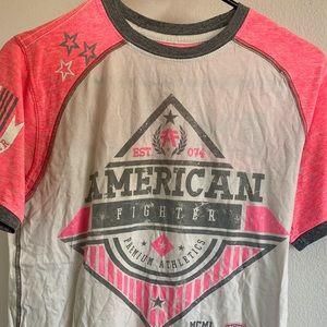 Pink American Fighter men's shirt